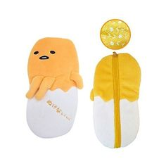 Amazon.com: Sanrio Gudetama Lazy Egg Fluffy Multi Purpose Pouch Pencil... (302.435 IDR) ❤ liked on Polyvore featuring home, home decor, office accessories and multi purpose pouch