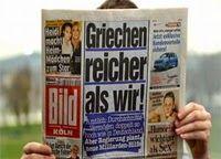 Die Krise und Klischees über Griechenland in den deutschen Massenmedien