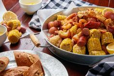 If you love sausage and you love shrimp, this is the recipe for you! Our Sausage Shrimp Boil is a simple recipe, packed full of bold flavors. Smoked Sausage Recipes, Cajun Recipes, Seafood Recipes, Cajun Food, Easy Recipes, Slow Cooker Recipes, Cooking Recipes, Cooking Tips, Game Day Food