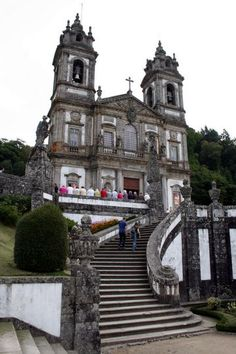 Bom Jesus do Monte in Braga, Portugal