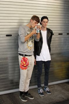 Elvis Jankus and Andrew Westermann after Marc by Marc Jacobs ss14