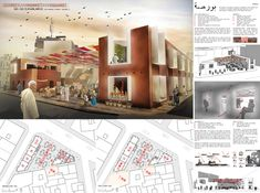 [AC-CA] International Architectural Competition - Concours d'Architecture | [CASABLANCA] Sustainable Market Square