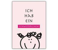 Geburtsanzeige rosa, Mädchen: Ich hab ein Schwesterchen - http://www.1agrusskarten.de/shop/geburtsanzeige-rosa-madchen-ich-hab-ein-schwesterchen/    00012_0_2643, AnzeigeGeburtsanzeige, Baby, BubBruder, Geburt, Geschwister, Gratulation zum Jungen, Grusskarte, Helga Bühler, Klappkarte, Schwester00012_0_2643, AnzeigeGeburtsanzeige, Baby, BubBruder, Geburt, Geschwister, Gratulation zum Jungen, Grusskarte, Helga Bühler, Klappkarte, Schwester