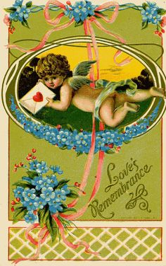 Archivists care for Valentine's Day ephemera. ArchivesInfo: More Finds at the Local Antiques Shop: Valentine's Day Valentine Day Week, Valentine Cupid, Saint Valentine, Valentine Images, Valentine Crafts, Victorian Valentines, Vintage Valentines, Vintage Easter, Vintage Cards
