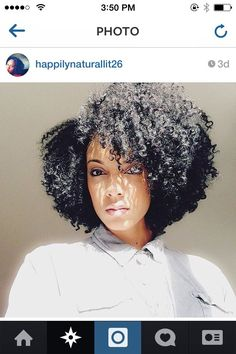 Cute Shape! - http://www.blackhairinformation.com/community/hairstyle-gallery/natural-hairstyles/cute-shape/ #naturalhairstyles