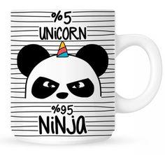 Einhorn Tasse Unicorn Ninja