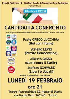 Max Alone - Rockin' in the free world: 19 febbraio - Incontro con i candidati alla Camera...