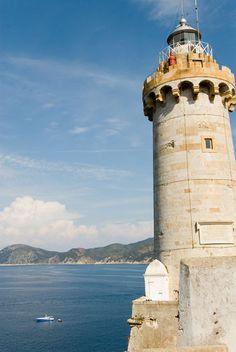 Lighthouse on Elba Island, Tuscany