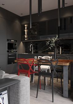 2 Modern Homes the Use Grey for a Calming Effect