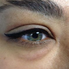 tattoo top lid eyeliner before and after - Google Search
