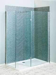 Milano Beka Recess Walk In Shower Enclosure - - Walk In Showers - Shower Enclosures - Aquabliss