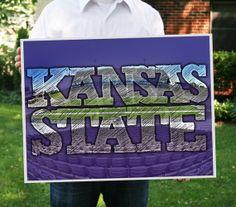 Kansas State Bill Synder Family Stadium Print