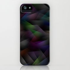 Abstract Geometric Shapes 1 iPhone Case by HeyTrutt - $35.00