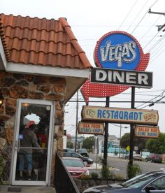 The Vegas Diner is located in North Wildwood New Jersey. It is our favorite diner in North Wildwood and offers steaks, seafood, burgers and all kinds of our diner cuisine. The prices are affordable and you really get your money's worth here.