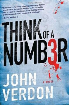 Think of a Number, A Novel by John Verdon