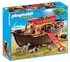 PLAYMOBIL Wild life - De dierentuin - Ark van Noach met savannedieren - 5276