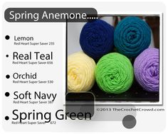 Spring Anemone Color Combo