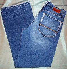 c2635ad5ef65 BKE 67 Buckle BRYSON Mens 32 Reg Bootcut 31 Inseam Factory Distress Jeans  30X31.  44.99