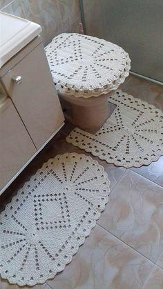 Jogo De Banheiro | Patricia crochetando | Elo7