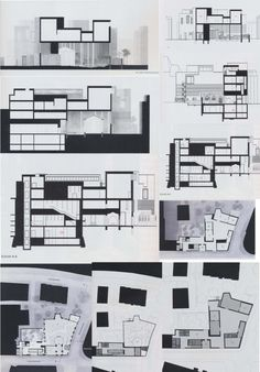 Peter Zumthor, Kolumba Art Museum section drawings.