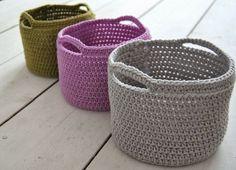 Для вязания корзины