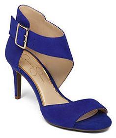 "Jessica Simpson Marrionn"" Peep-toe Dress Pumps on shopstyle.com"