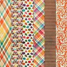 FREE Woodland Tea-Party Rolls On Patterns 1 by Harper Finch