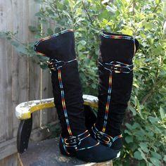 Size 8.5  Hand Painted Rez Hoofz   Please Read full description below by REZHOOFZ on Etsy