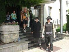 Brian, Roger and Adam lambert