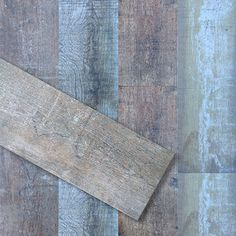 "Tile for shower floor - Movila 7"" x 20"" Wood Look Ceramic Plank."