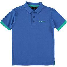 Mid-Blue Polo Shirt