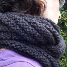 snood facile Knitting Projects, Knitted Hats, Loop, French, Parfait, Diy, Fashion, How To Knit Mittens, Moda