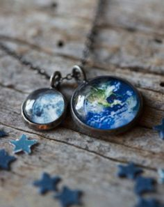 Earth + Moon Necklace