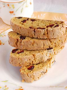 Pumpkin Biscotti, Biscotti Recipe, Veg Dishes, Bakery, Food And Drink, Yummy Food, Bread, Cookies, Breakfast