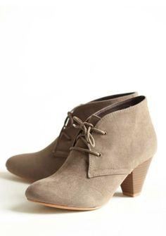 #Ankle Boots - Camurça