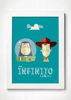 Poster Toy Story - Meu Adorável Iglu