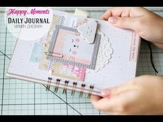 6x6 baby boy mini album. Crate Paper - Little You - YouTube