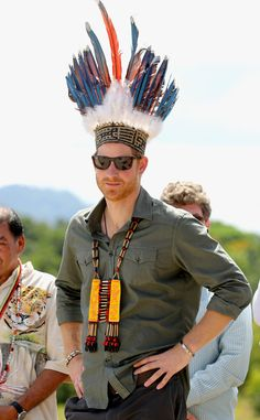 Looking Sharp: prince-harrys-visit-to-the-caribbean