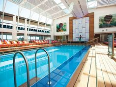 10 Impressive Cruise Ship Pools You Must See For Yourself : Condé Nast Traveler FOR ADULTS ONLY CELEBRITY CRUISES The lovely, and oh so peaceful Solarium is the adults-only pool complex aboard Solstice-class ships, including Solstice, Equinox, Eclipse, Silhouette, and Reflection. This well-designed space, which includes a pool and two hot tubs, is protected from the elements by a glass atrium.