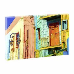 Buenos Aires- Kunstdruck auf Leinwand -H-65cmB-100cm-Angebote im Shop