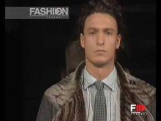 GIORGIO ARMANI Menswear Autumn Winter 2005 2006 Milan Pret a Porter by Fashion Channel http://www.youtube.com/watch?v=o_8UtjAD8nQ #FashionChannel