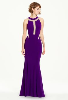 Geometric Stud Illusion Dress from Camille La Vie and Group USA