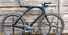 Le fixie noir mat Joker de notre internaute du jour | Fixie Singlespeed, infos vélo fixie, pignon fixe, singlespeed.