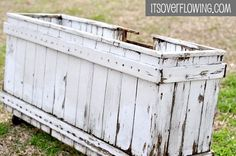 Fabulous Crafty Potential {Repurposed Wood}