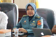 Pasific Patnership-Koordinator Planner Enginering Pembangunan Lanal Bengkulu Letkol Laut Ayu Candra.