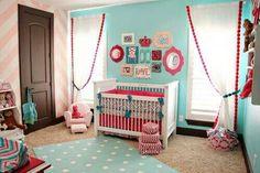 Girl nursery idea!!