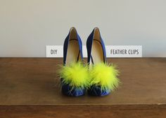 DIY Feather Clips