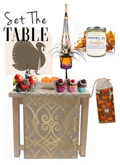 """""""Set the table"""" by ankleknits ❤ liked on Polyvore featuring interior, interiors, interior design, home, home decor, interior decorating and setthetable"""