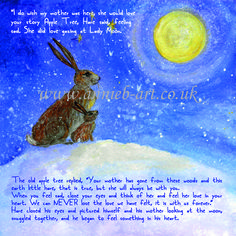 From the story book, The hare and the wise old apple tree' by annie b. www.annieb-art.co.uk Tree Story, Self Esteem Issues, Lonliness, Children's Picture Books, Beautiful Stories, Apple Tree, Hare, Childrens Books, Old Things