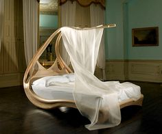 Enignum Canopy Bed from Joseph Walsh - DesignCurial